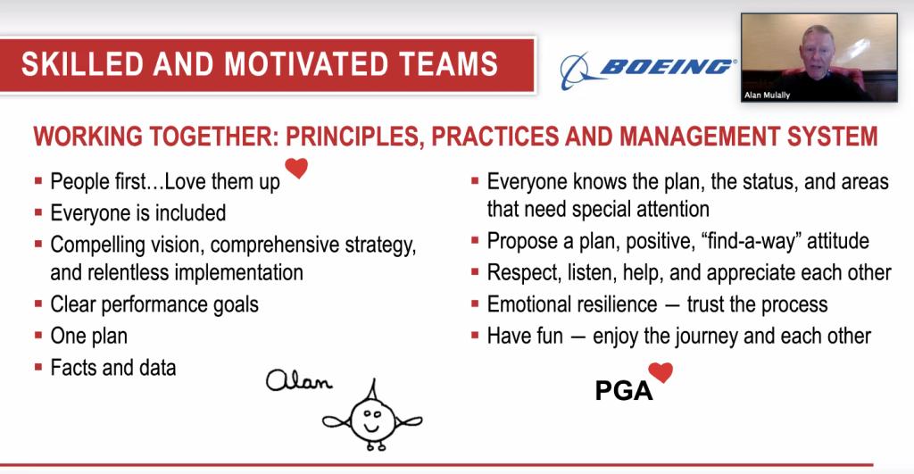 11 principios de liderazgo de Alan Mulally